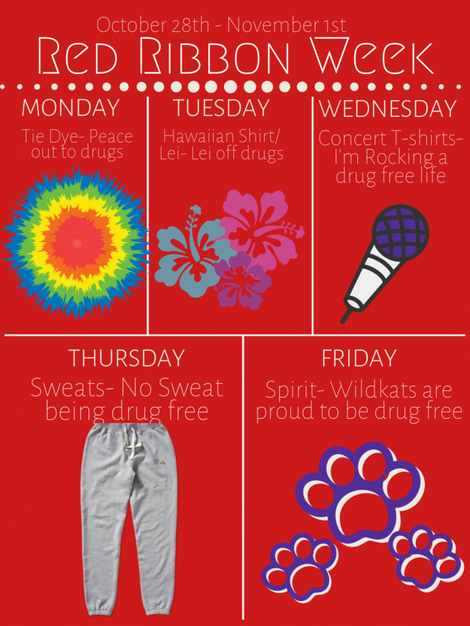 Red Ribbon Week is October 28th - November 1st.