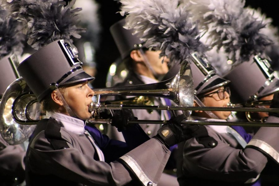 Members+of+the+Wildkat+Band+performed+for+the+community+on+Sunday+night+at+Berton+A+Yates+Stadium.+The+area+champs+will+compete+at+the+UIL+State+meet+in+San+Antonio+on+November+4-5%2C+2019.+