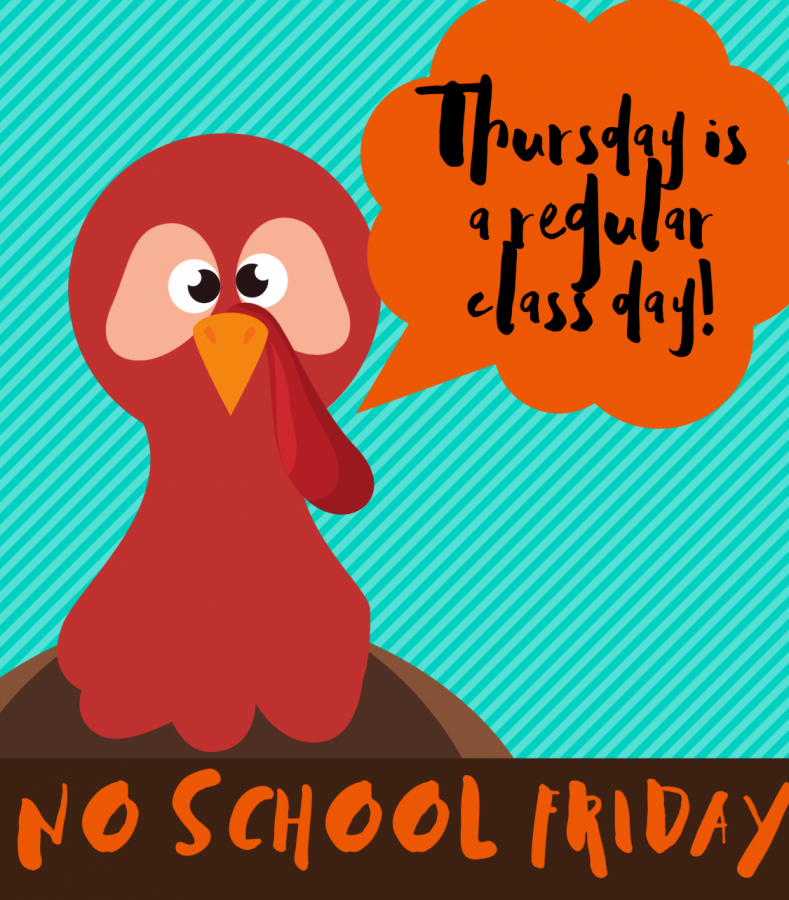 Thursday+is+a+regular+class+day.+There+will+be+no+school+on+Friday+for+students.