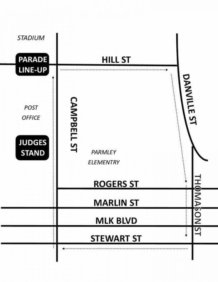 The Willis Christmas Parade is Saturday. The line up is across from the stadium and the judge's stage will be across from Parmley Elementary.