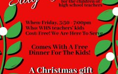 FCA and Student Council is offering a free Stay N Play for the children of high school teachers this Friday.