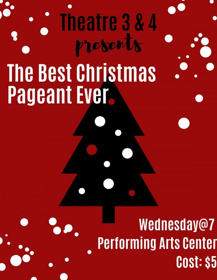 Theater+3%264+presents+the+Best+Christmas+Pageant+Ever+on+Wednesday+at+7%3A00+pm.