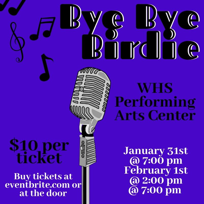 Bye+Bye+Birdie+will+debut+Friday+night+in+the+PAC.+The+musical+is+a+collaboration+of+the+drama%2C+band%2C+choir%2C+dance+and+art+programs.