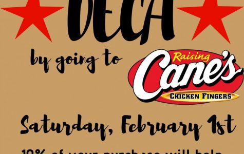 You have to eat; support DECA this Saturday