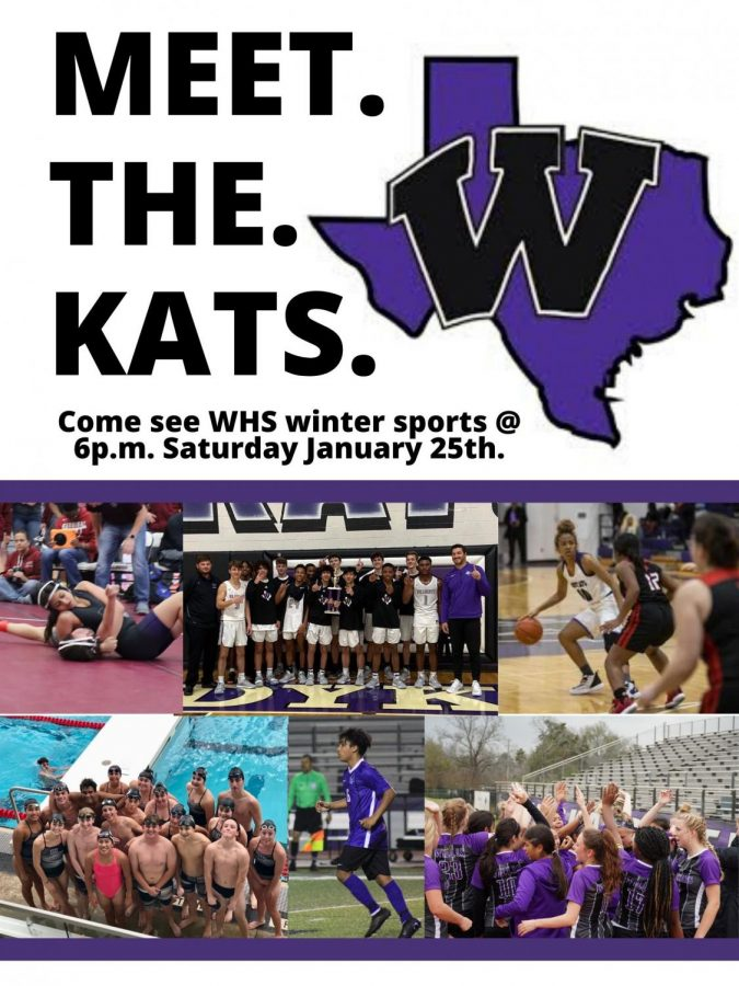 Meet the Kats scheduled for tomorrow night