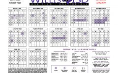 2020-2021 calendar adopted by board