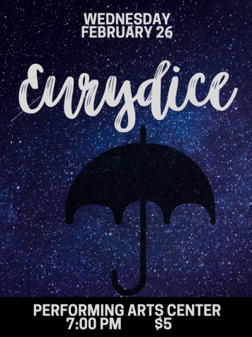 Wildkat Drama Deapartment presents Eurydice this Wednesday at 7vp.m.