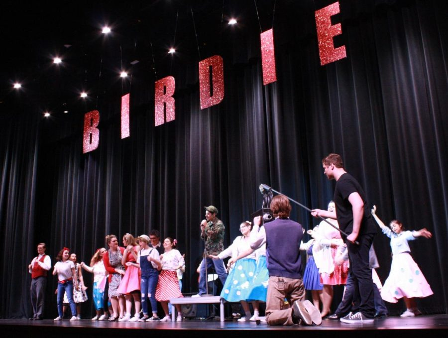 Bye+Bye+Birdie+took+the+stage+of+the+WISD+Performing+Arts+Center+Jan.+31+and+Feb.+1.+The+musical+was+a+collaborative+effort+of+choir%2C+drama%2C+band+with+sets+created+by+the+Visual+Arts+Department+and+programs+designed+by+Wildkat+Media.+