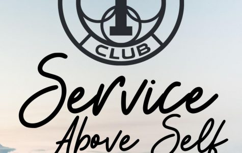 SERVE. The Interact Club promotes Service Above Self. They will  give back to the community this week with their Valentine's Party for a Purpose.