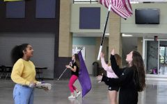 Winter Guard headed to area competition this Saturday