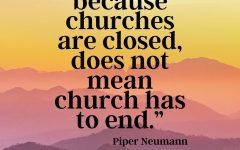 Worship changes as coronavirus closes community churches