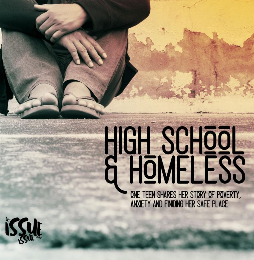 Homelessness is a growing problem in Montgomery County, one student shares her story about being in high school and homeless.
