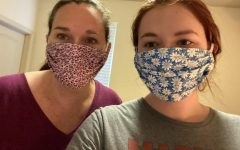 Local seamstresses react to crisis by making masks