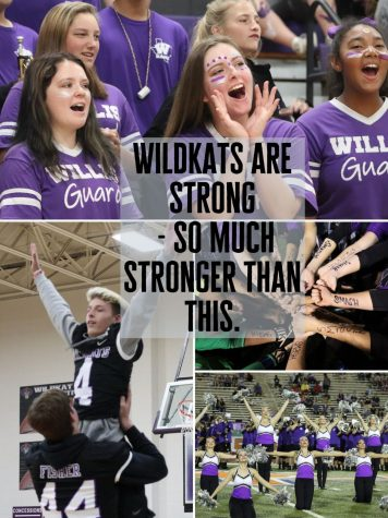 WILDKATS NEVER DIE. With schools closing for the year, many students may feel discouraged and angry. Staff member Charnell Haywood reminds WIldkats of the good times.
