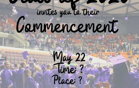 The Class of 2020's graduation plans are uncertain due to the COVID-19 pandemic. The district has planned a ceremony on May 22nd at a district facility.