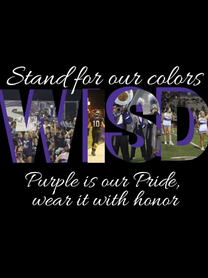 STAND+FOR+OUR+COLORS.+The+words+of+the+school+song+are+more+than+words.+The+are+inspirational+and+meaningful+to+all+Wildkats.+