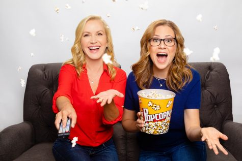 "OFFICE LADIES. For a behind the scenes look at the world of ""The Office,"" check out the ""Office Ladies"" podcast featuring Jenna Fisher and Angela Kinsey."