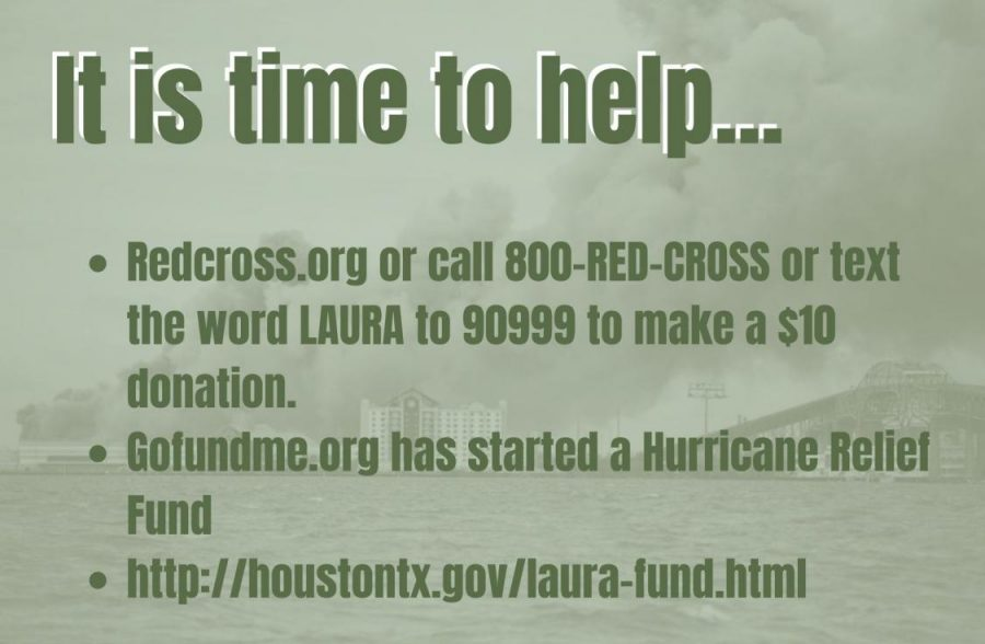 THE TIME IS NOW. South Louisiana and East Texas is rebuilding after the devastataion of Hurricane Laura left millions without power. There are simple ways everyone can help.