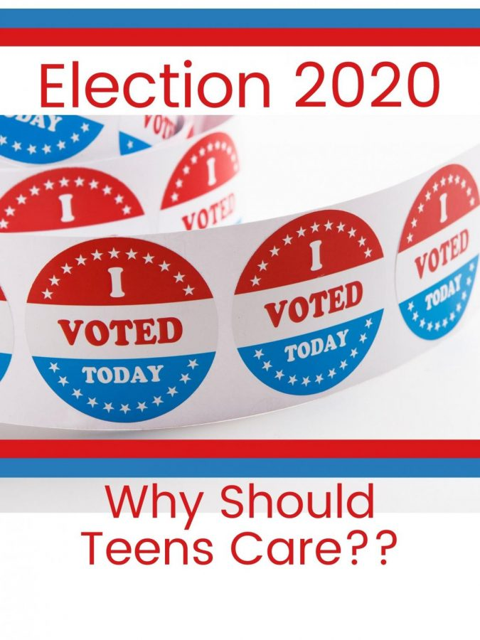 ELECTION+2020.+Although+most+students+cannot+vote%2C+the+upcoming+election+is+not+being+ignored.+