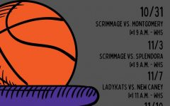 MARK YOUR CALENDAR. The Lady Kats start with a Halloween scrimmage against Montgomery.