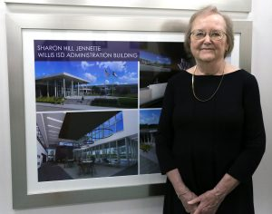 HONORED. Sharon Hill Jeanette was honored by the WISD Board of Trustees in May of 2019. Hill Jeanette was an employee of the district for 49 years before her retirement in 2019.