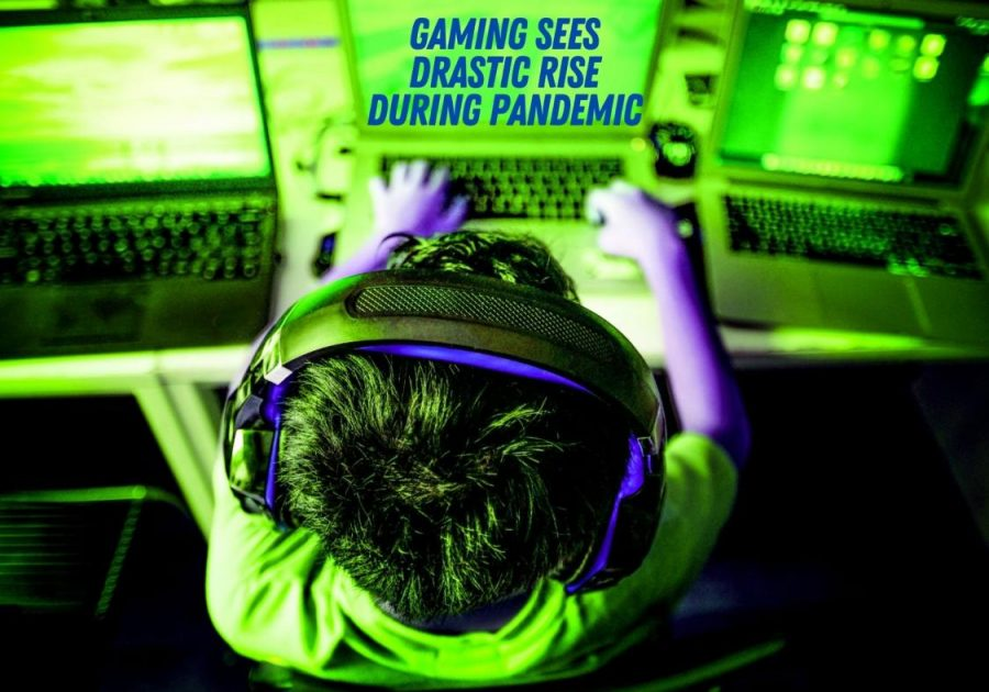 GAMING+GROWS+WILD.+Across+all+gaming+platforms%2C+gaming+has+seen+a+meteoric+rise+during+the+pandemic.+