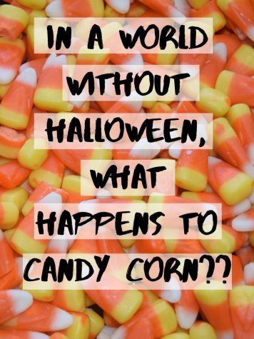 SWEET AND CORNY.  In a world without Halloween, what happens to candy corn? The CDC