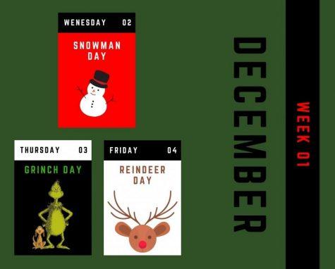 12 Days of Christmas starts Wednesday, December 2.