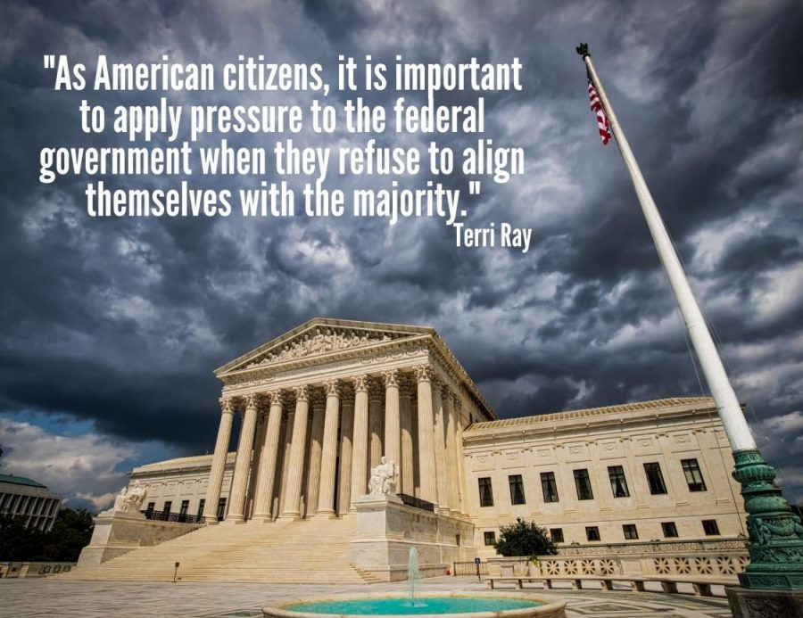 As American citizens, it is important to apply pressure to the federal government when they refuse to align themselves with the majority.