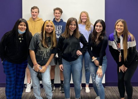 ALL THE WAY TO STATE. Seven members of DECA have qualified for state competition.  They are Braden Kurtz, Megan Leblanc, Eian Bracken, Melody Medina, Brittany Ramirez, Jennifer Mancha, and Vianey Juarez.