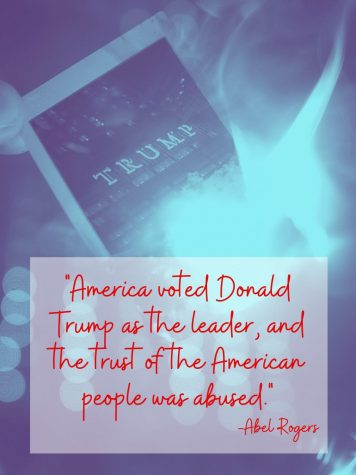 ABUSE OF POWER. America voted Donald Trump as the leader, and the trust of the American people was abused.