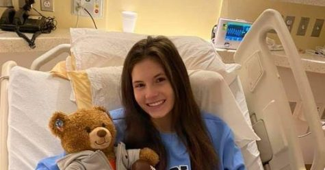 #RISE UP. A GoFund Me has been set up for sophomore Mazzy Heyer and her family. Heyer has recently been diagnosed with AVM and will have surgery today.