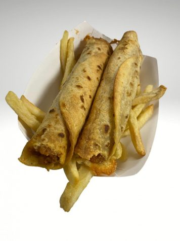 NEW OPTIONS. Taquitos are just one of the new items being offered in the cafeteria. They are available on Thursday.