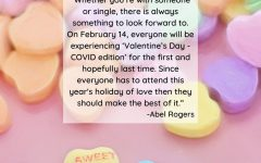 """Whether you're with someone or single, there is always something to look forward to. On February 14, everyone will be experiencing 'Valentine's Day - COVID edition' for the first and hopefully last time. Since everyone has to attend this year's holiday of love then they should make the best of it."""