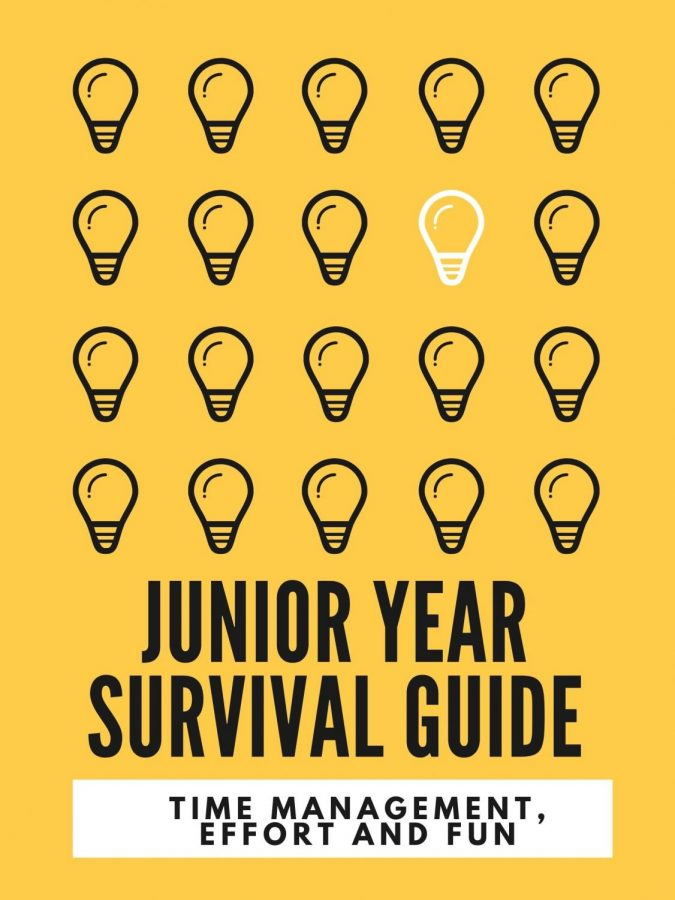 SURVIVAL+GUIDE.+Juniors+give+incoming+class+advice+to+excel+in+their+junior+year.+