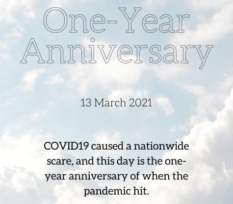 ONE YEAR. The one year anniversary of COVID19 brings tough memories to light.