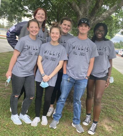 THE ONE WHERE THEY WENT TO REGIONALS. The journalism team placed 3rd at regionals on Saturday at Klein Collins High School. Juniors Heather Jackson, Stephanie Keele, Brennan Mansker, Summer Rains and Katherine Lee with senior Sure Ibukun competed at the regional level.