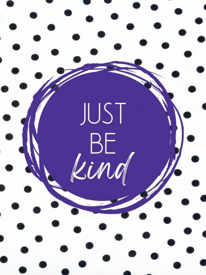 JUST+BE+KIND.++With+over+2300+students+on+campus%2C+it+is+guaranteed+that+not+every+student+will+agree+with+the+words%2C+beliefs+and+actions+of+other+students.+However%2C+that+does+not+mean+that+students+can+resort+to+taking+a+picture+and+posting+it+online+with+hateful+comments.