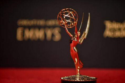 AND THE WINNER IS. The 2021 Emmys awarded actors like Olivia Coleman and Jason Sudeikis at their show this year.