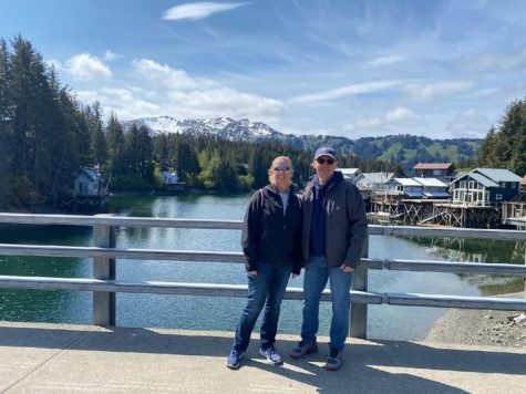 COMPLETING THE LIST. Geometry teacher Jim Korkowski and his wife Stacie enjoy the majestic beauty of Seldovia, AK in June 2021. The trip marked their visit to the last state on their list of 50 the couple wanted to visit before Stacie turned 50.