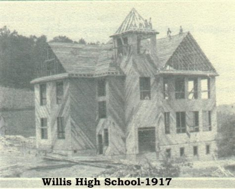 115 YEARS AND COUNTING. Willis High School in 1917 is much different that WHS today.