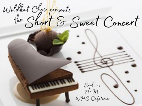SONGS AND SNACKS. Choir is holding a concert tomorrow in the cafeteria at 7 P.M.