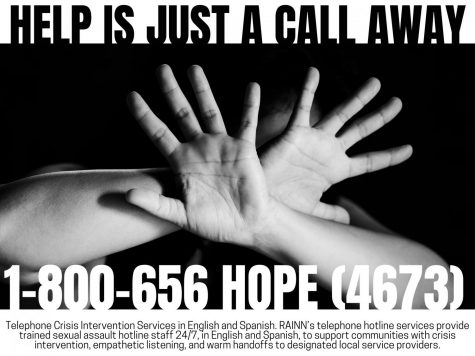JUST A CALL AWAY. Silence is not the answer. Seeing help is the only way things will get better.