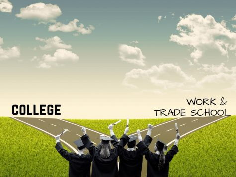 THE ROAD AHEAD. As seniors make choices about their future, college is not the only path to success.