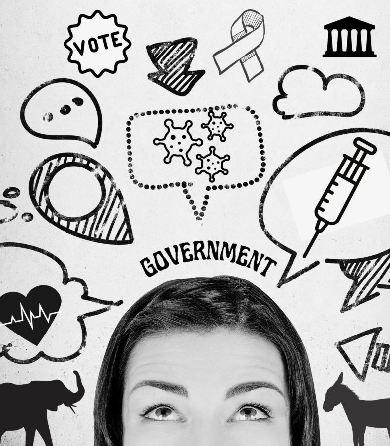 IT IS YOUR TURN. With politics flooding social media and the internet, the information can sometimes be overwhelming and turn people away rather than informing them on the issues at hand. With social media and influencers actively trying to form and change opinions of their followers, teens can feel overwhelmed with the amount of valid and false information.
