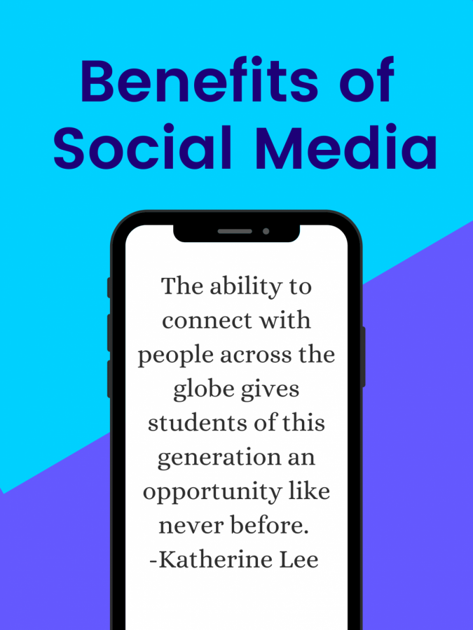 SOCIAL MEDIA. While social media may have several negative stereotypes, it can be beneficial as well.
