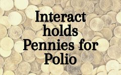 FIGHT BACK. Interact partners with Rotary International to raise funds for vaccines to battle polio.