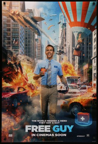 FREE GUY. Ryan Reynolds stars in Free Guy, a movie about characters in a vido game.