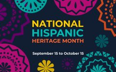 National Hispanic Heritage month actually spans over two months. It is from September 15 to October 15 and